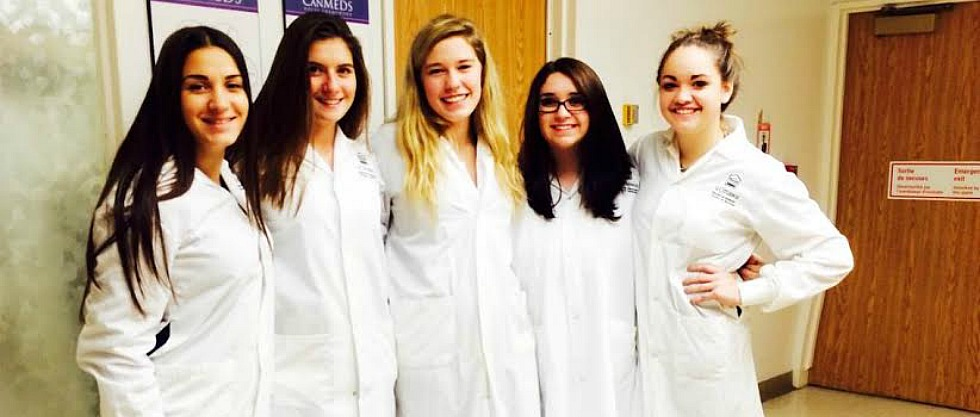 RCI Emergency Services students visited uOttawa's Gross Anatomy Lab
