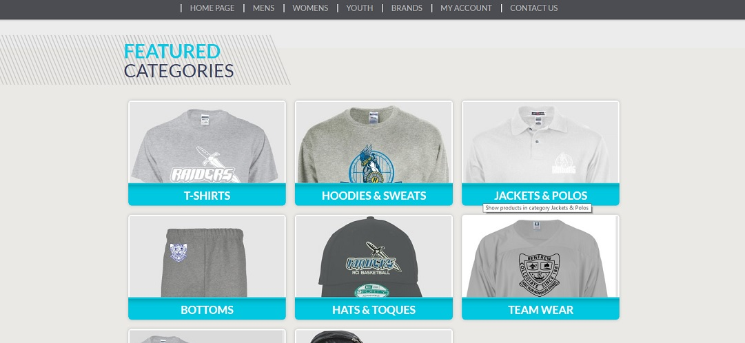 photo of webstore